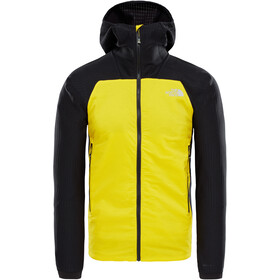 The North Face Summit L3 Ventrix Hybrid Hoodie Herre canary yellow/tnf black